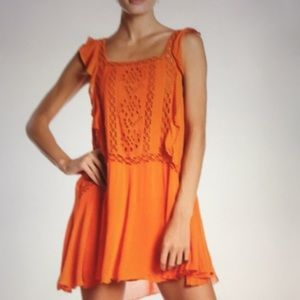 NWT Free People Priscilla Mini Dress